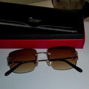 Cartier wire sunglasses